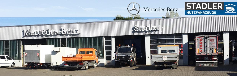 Stadler Mercedes Nutzfahrzeuge Wasserburg